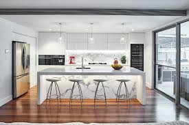 large sliding glass doors. Large Sliding Glass Door Fischer Paykel. Lina Karlina. Sydney Under Cabinet Lighting With White Buffets And Sideboards Kitchen Contemporary Aid Marble Doors