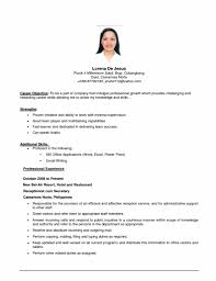 Common Resume Objectives Strong Resume Objective Statements Vague Examples Objectives 19