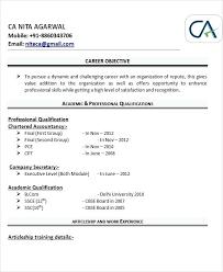 Sample Resume For Accountant Fresher Fresh Professional Resume For