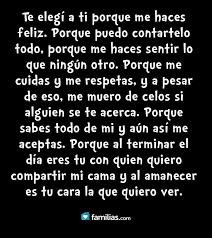 Te Amo Quotes Mesmerizing Amo A Mi Esposo ™�Amo A Mi Esposo♡ Pinterest Frases Spanish
