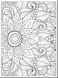 coloring pages simple flower coloring pages color free spring printable f