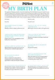 Birth Plan Download Natural Birth Plan Template For Hospital Templates Instagram