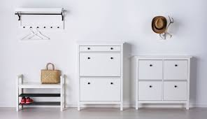 ikea hallway furniture. hemnes white hallway storage furniture for outdoor clothes ikea e