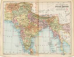 historical maps of india India Map Before 1600 key to section maps, plates 22 to 36, of the indian india map before 1600