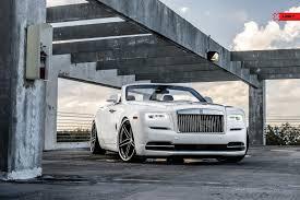 Screaming Of Luxury White Rolls Royce Dawn Gets Custom Chrome