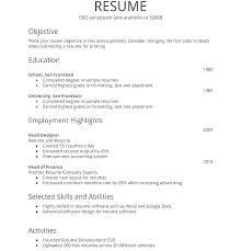 Easy Free Resume Builder Quick Easy Resume Builder Fast Free Easy