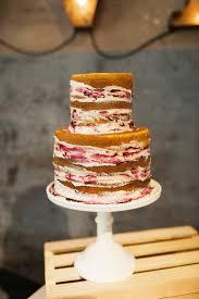 Naked Fall Wedding Cake A Wedding Cake Blog