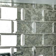 antique mirror glass tiles 3 x 6 subway tile in straight backsplash custom antiqued mirrors t