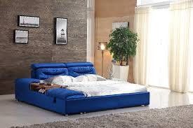 unique bed frames. Unique King Size Blue Farbic Bed Frame 0414 601-in Beds From Furniture On Aliexpress.com | Alibaba Group Frames N