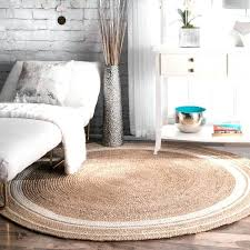 Round Jute Rug 8 Amp Braided Natural Area 8x10 West Elm