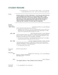 Objective For High School Resumes Resume Objective For Graduate School Englishor Com