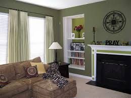 Green Paint Colors For Living Room Home Decoration Interior Design