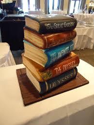 9 Cakes Shaped Like A Stack Of Books Photo Cake Shaped Like Stacks
