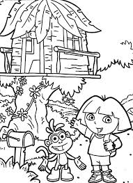 Small Picture Extremely Creative Treehouse Coloring Pages Fairy Tree House
