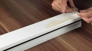 Feiner Kratzer Im Kunststoff Fenster Beseitigen