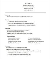 Student Teaching Resume Examples Zromtk Interesting New Teacher Resume