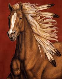 canvas art horses