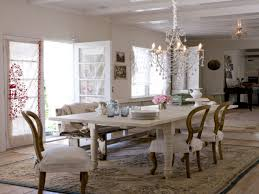 Christmas Bedroom Decor French Country Dining Room Shabby Chic - Country dining room pictures