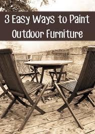 Best 25 Painted outdoor furniture ideas on Pinterest