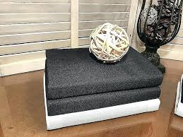 used coffee table books ottomans as tables beautiful r canvas ottoman cof