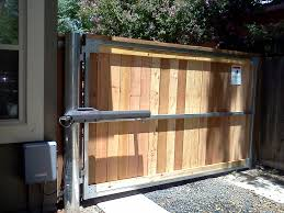 fence gate. in house access control division gate automation install and repair fence