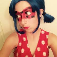 the wig i have and im so excited to finish this cosplay miraculous ladybug is such