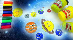 diy how to draw and coloring emoji solar system planets what colors are planets play doh