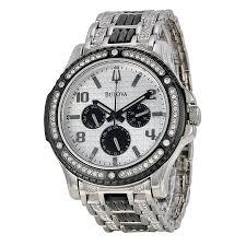 bulova crystal men s watch 98c005 crystal bulova watches bulova crystal men s watch 98c005