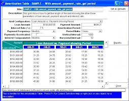 Loan Schedule Excel Template Free Amortization Schedule Excel Template Templates Printable