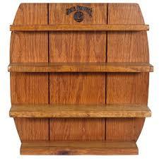 barrel wood shot shelf