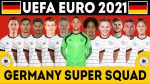 GERMANY Football Full Squad 2021 UEFA EURO | EURO 2021 | Germany full squad  - YouTube