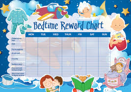 Bedtime Chart Printable Printable Sleep Reward Charts For Toddlers Best Picture Of