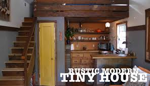 Tiny House Kitchen Garage Turned Into A Tiny House The Rustic Modern In Portland