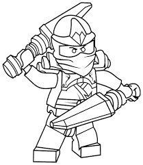 25 Ninjago Coloring Pages - ColoringStar