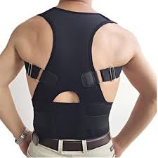 <b>adjustable back support posture</b> corrector brace should belt strap at ...