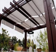 pergola with cover patio fabric cover ideas simple and deep varnished creative sample gallery decorate classic item design