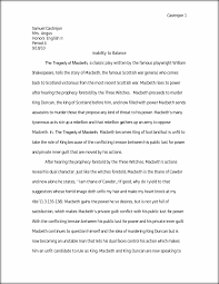 macbeth dualism essay castrejon samuel castrejon mrs angus this preview has intentionally blurred sections sign up to view the full version