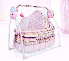 Electric Children's Bed Foldable <b>Extended</b> Nest for Newborns <b>Baby</b> ...