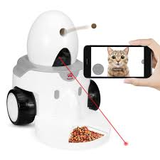 Amazon.com: FunPaw Playbot Q Pet Camera & Pet Feeder: Play, Video Chat &  Feed your Cat/Dog from Anywhere; Fully Mobile: Pet Supplies