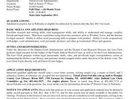 Objective For Legal Assistant Resume Law Clerk Resume Sample Highlights Andonstory Job Description 89