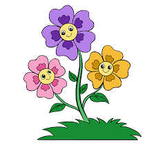 picture of cartoon flowers. Modren Cartoon Flower Cartoon Drawing At GetDrawingscom  Free For Personal Use  Jpg On Picture Of Flowers R