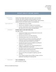 Budget Specialist Sample Resume Funky Budget Analyst Resume Federal Government Festooning 21