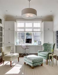 trendy home office. trendy home office decorating ideas traditional with crown molding curtains and drapes
