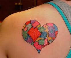 11 best tattoo images on Pinterest | Carpets, Drawing and Drawings & patchwork heart by dina verplank see more at fireflytattoo.com. Adamdwight.com