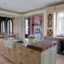 off white country kitchen. Black, Green \u0026 Off-White Cabinets In French Country Kitchen Off White V