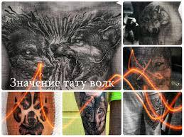 значение тату волк коллекция фото готовых рисунков татуировки