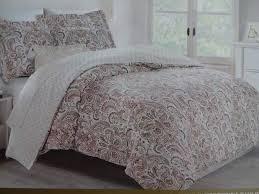 nicole miller duvet covers in cream