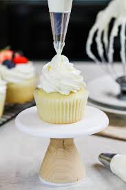 whipped cream frosting with cream