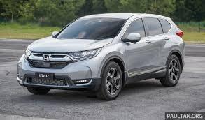 Driven 2017 Honda Cr V With Honda Sensing First Impressions Review Honda Crv 2003 Malaysia Review