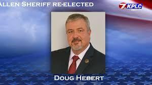 Doug Hebert re-elected as Allen Parish Sheriff